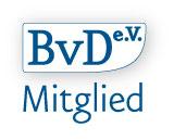 Mitgliedslogo des BvD e.V.